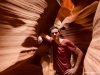 Antelope Canyon upper (un peu floue...)