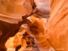 Antelope Canyon upper collé au mur