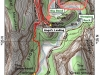 Angels Landing carte - map